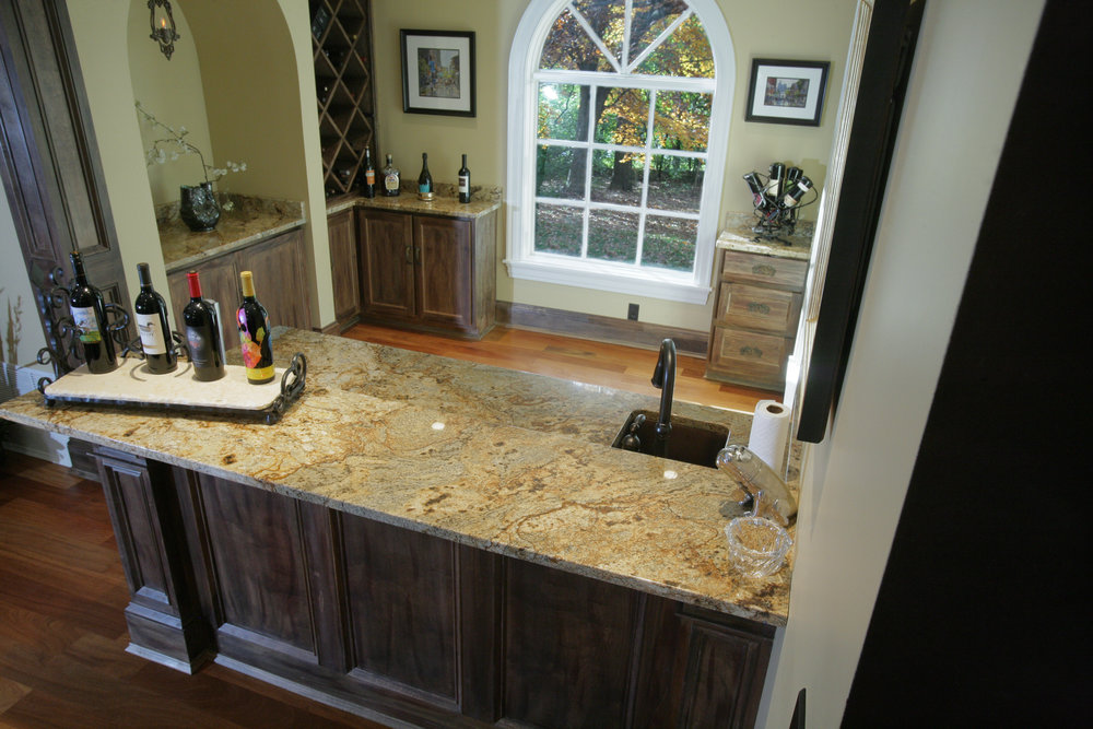 Luxury Granite Bar