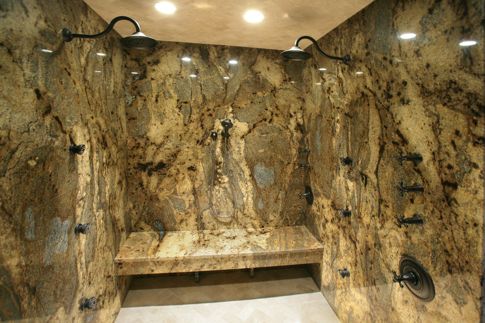Luxury Granite Shower 1