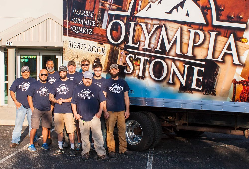 Olympia Stone Warehouse Team