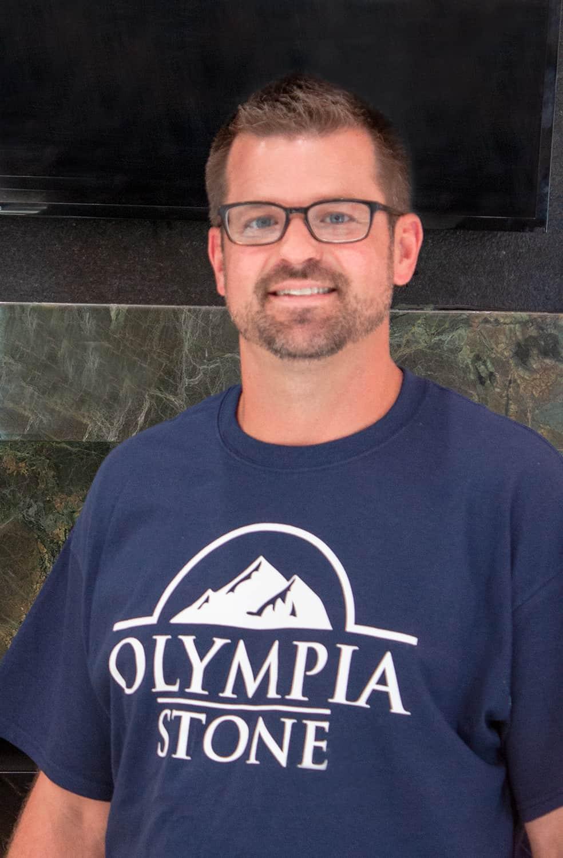 Olympia Stone Owner Matt Schuckman