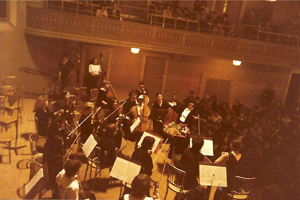 I. Frauen-Kammerorchester von Osterreich at the Mozart Hall of the Konzerthaus, Vienna
