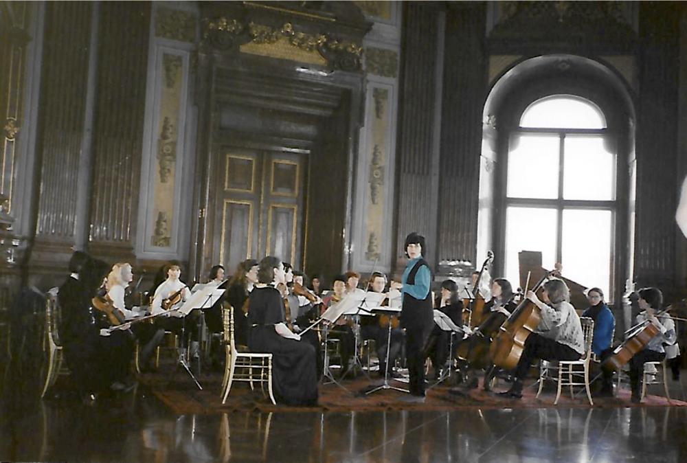 I. Frauen-Kammerorchester von Österreich at Belvedere Palace, Vienna