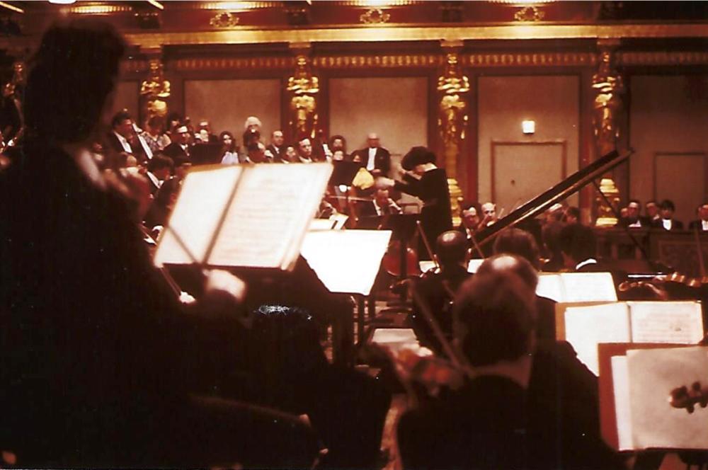 Tonkünstler Orchester at Grosser Musikvereinsaal, Vienna