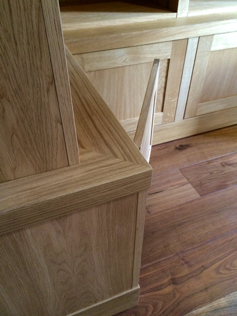 Detail - Attention to detail and perfectly executed joinery set this piece apart.