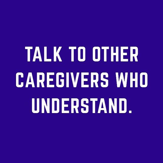 Caregivers, trying finding fellow caregivers to communicate with. They will be able to relate to you and share tips. . . . #caregiver #caregiverlife #alzheimers #alzheimersawareness #dementia #dementiaawareness #aging #healthylifestyle
