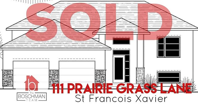 SOLD: 111 Prairie Grass Lane in St Francois Xavier!! Congrats to the home buyers of this brand new 1259 sqft home, to be built by Connection Homes! Can't wait to see the finished product! If you are looking for an affordable brand new custom built home in or around Wpg, call me anytime!! #stfrancoisxavier #manitoba #motivatedtomoveyou #manitobarealestate #theboschmanteam #sellwiththeboschmanteam #connectionhomes