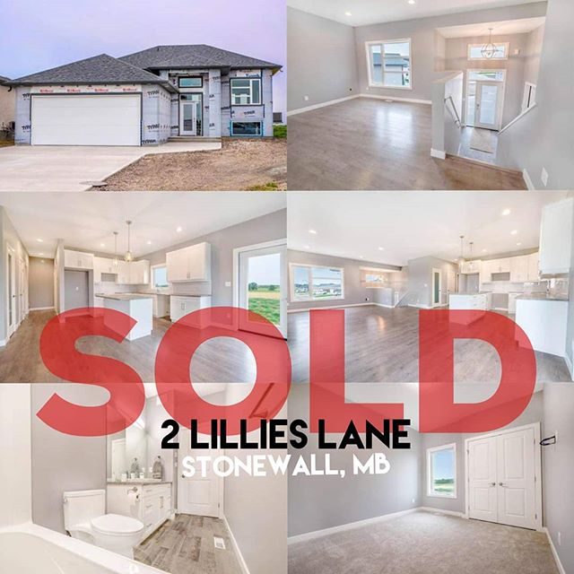 SOLD: 2 Lillies Lane in Stonewall MB!! 🎉Congrats to all parties!!🎉 If you are looking for a brand new home in Stonewall or surrounding area, we can definitely help!! #theboschmanteam #sellwiththeboschmanteam #manitoba #manitobarealestate #sellingmanitoba #winnipeg #winnipegrealestate #royallepageprime #helpingyouiswhatwedo #connectionhomes #stonewall