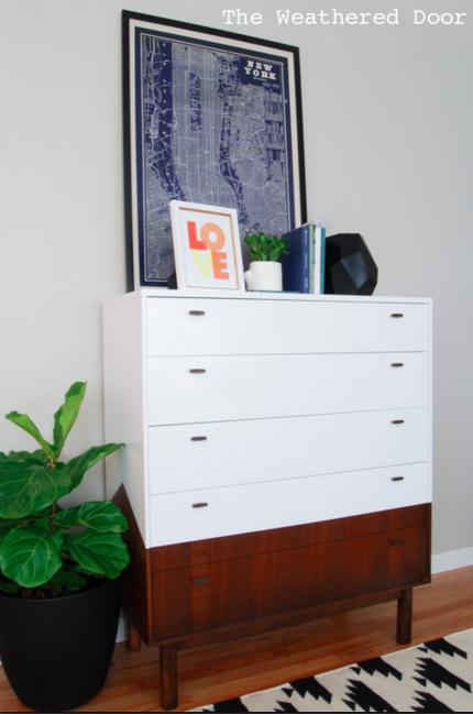 Roundup: Crushing on Painted Mid Century Modern Furniture ...