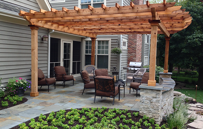 With the finishing touches in place, the family looks forward to a relaxing summer of backyard living.