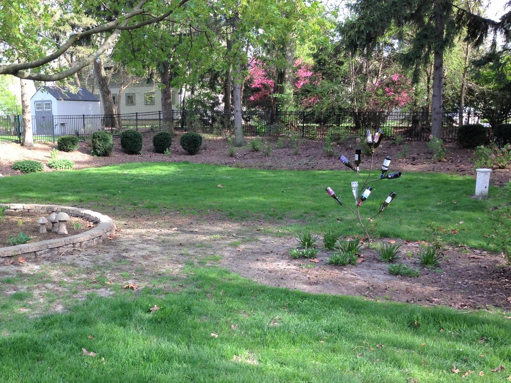 Planting design before renoavtion in Elburn, IL