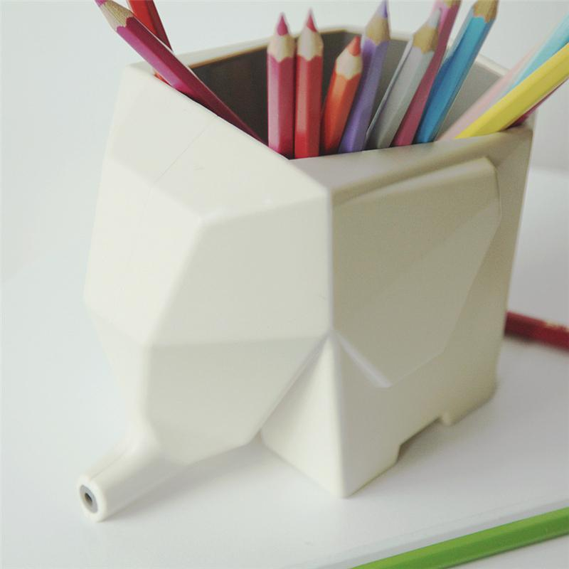 Elephant Desktop Pencil Holder/Makeup brush Holder