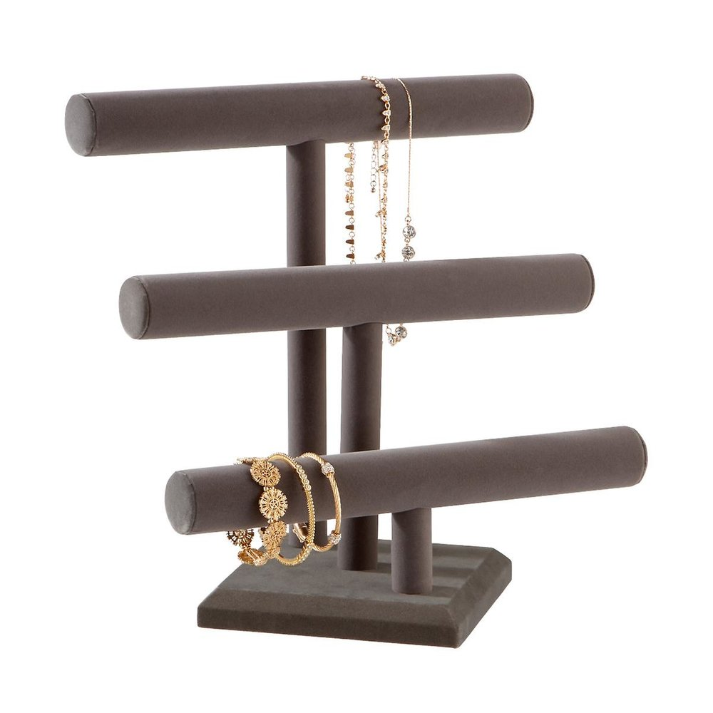 Triple-Tiered Jewelry Organizer