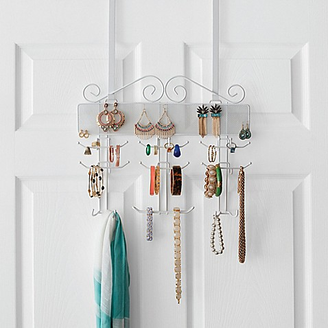 Over-the-Door Jewelry Organizer