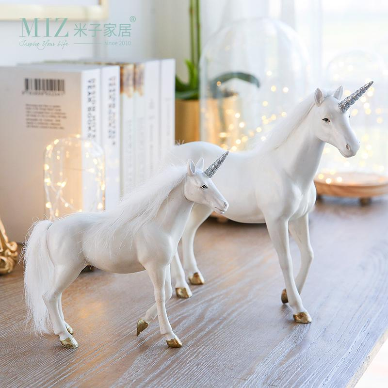 Magical White Unicorn Figurine