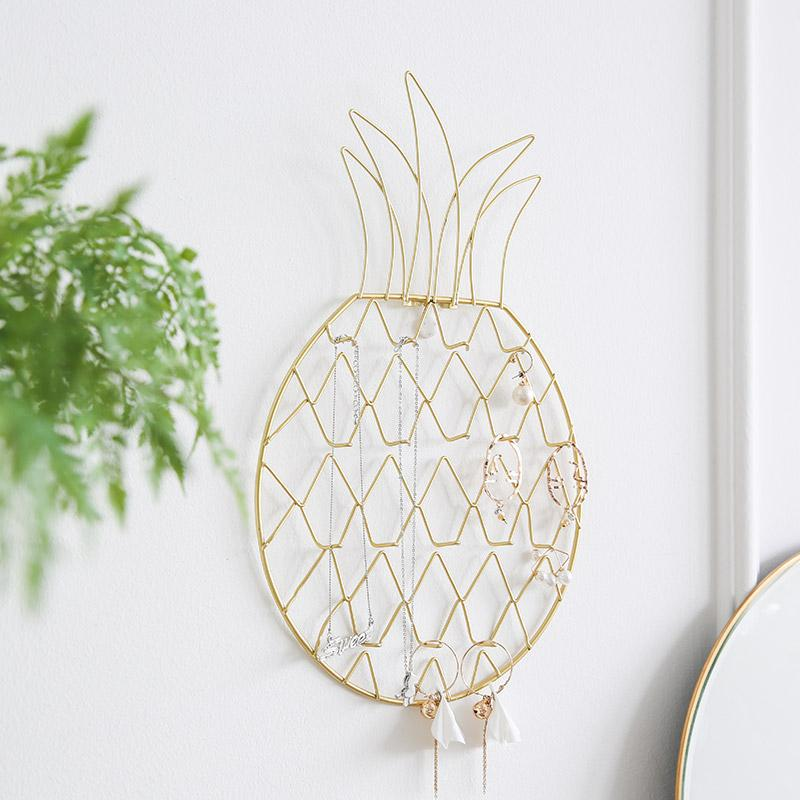 Pineapple Shaped Jewellery Organizer Display Rack