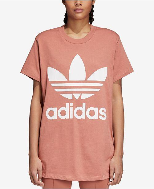 Adicolor Cotton Relaxed Trefoil T-Shirt - ADIDAS ORIGINALS