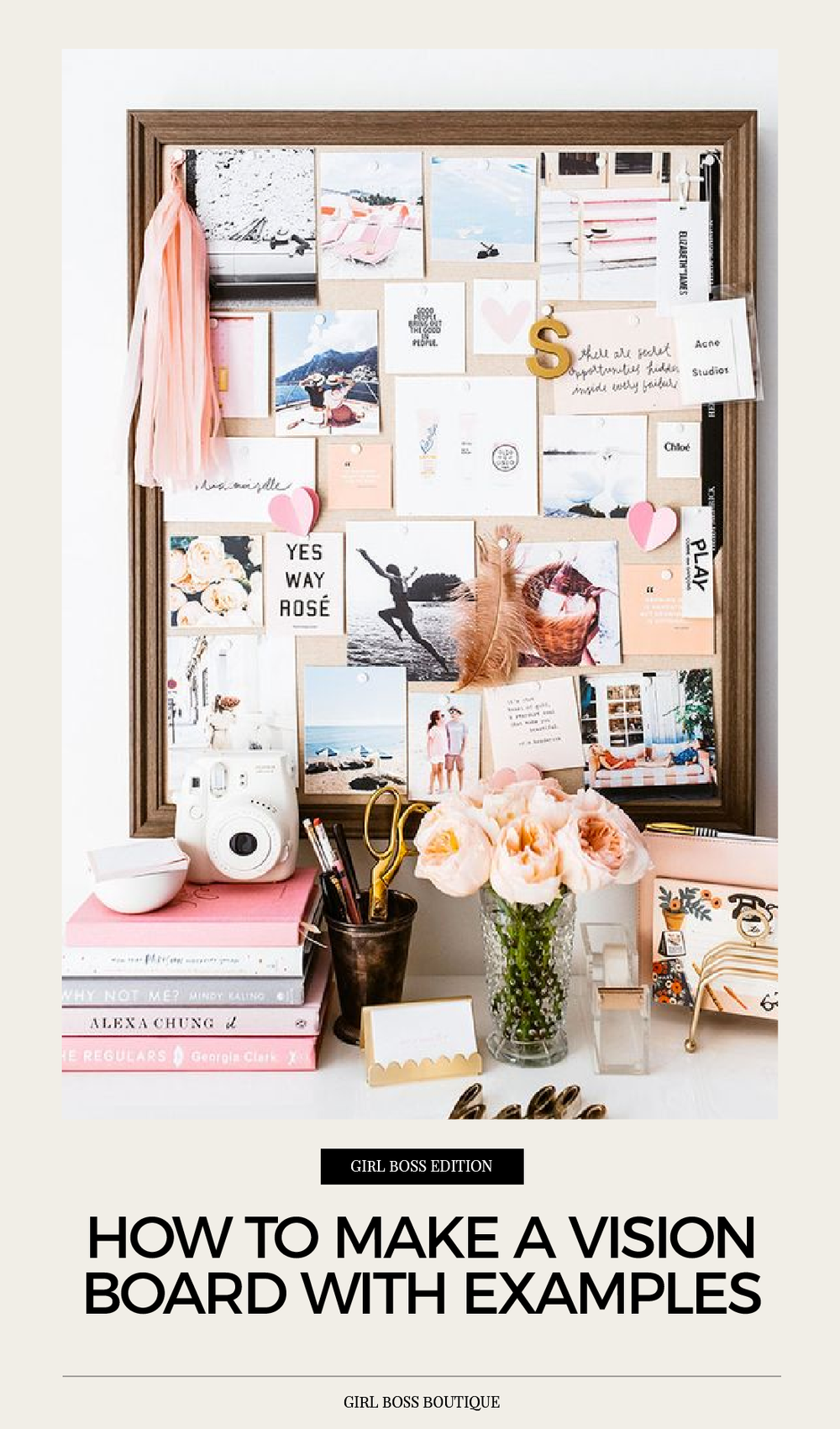 How to make a vision board with examples