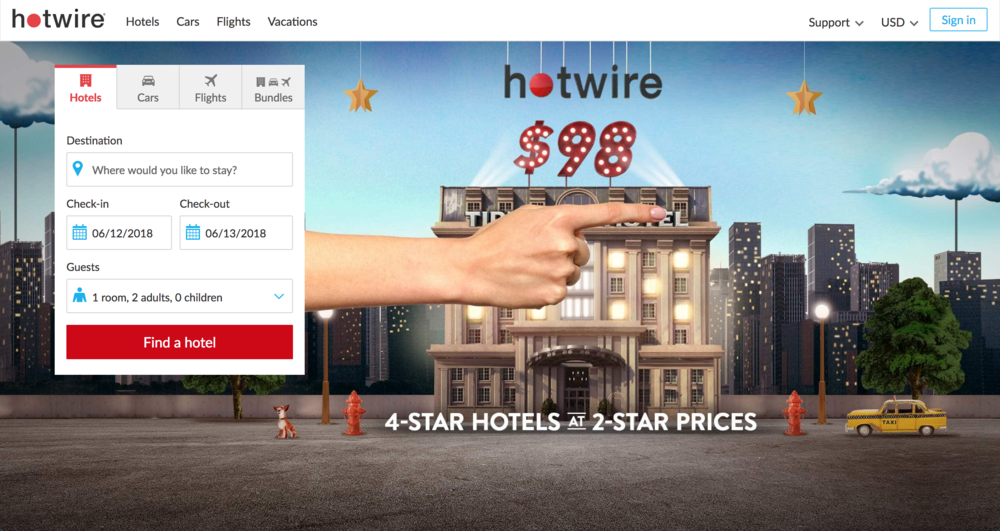 best hotel booking sites