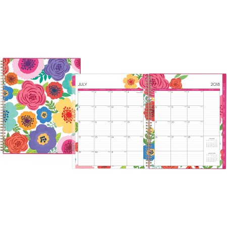Weekly:Monthly Planner, Multicolor