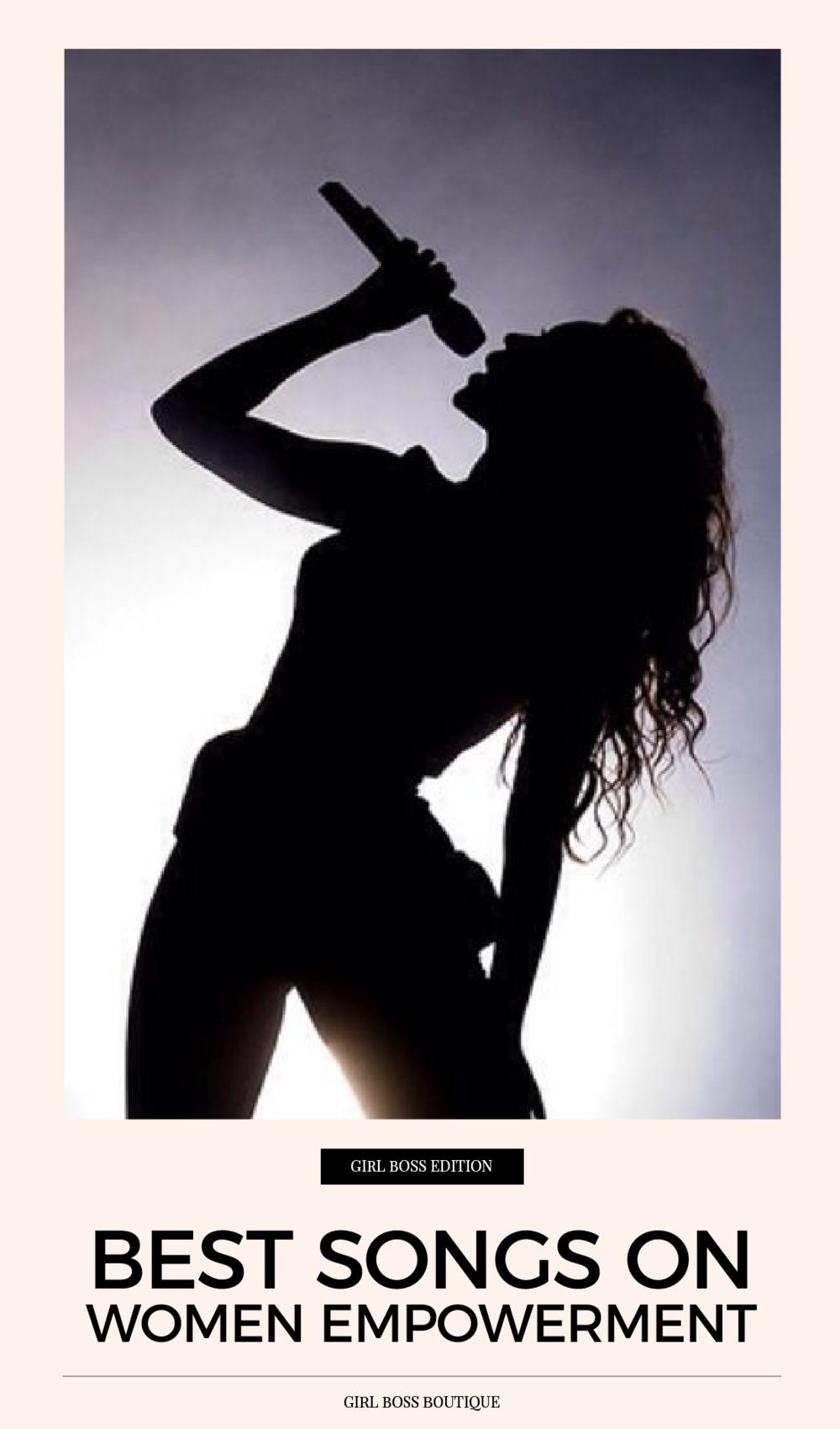 Best songs on women empowerment