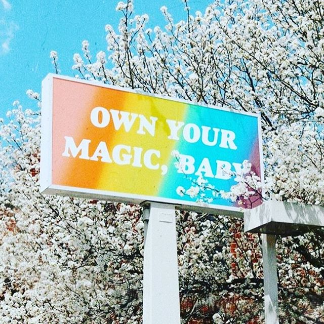 #MondayMotivation because your magic can take you wherever you want to go ✨photo: @refinery29