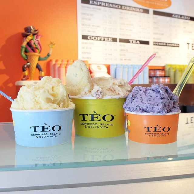 🍨 Here's the scoop: Caffe Tèo's gelato is delicious year-round. #clientlove