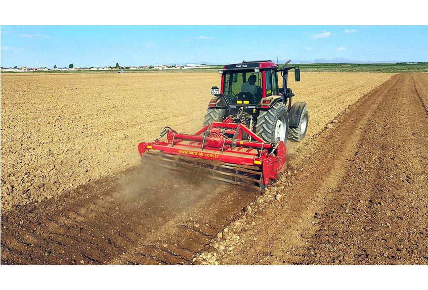 ROTOTILLER TFS270-TFS300 - ROTARY TILLERS:It is a versatile machine that can be used in many processes such as tillage,stubble disruption, seed bed preparation,mixing plant residus with soil,increasing humic with orgaic fertilizer, mechanically fighting with mechanical herbs, saving time and fuel.ROLLER:The ability to compress the soil makes it possible to protect the existing moisture.GEARBOX:A powerful gearbox on the machine offering 4 different speed options.MACHINE DEPTH ADJUSTMENT:The control leg on the sides of the machine allow easy adjusment of the desired depth from 5 to 27 cm.