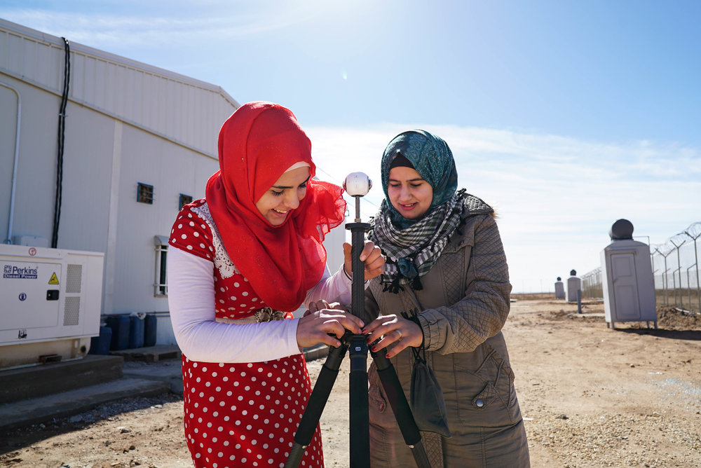 My People, Our Stories: Za'atari - An immersive 360º series that highlights different aspects of a teenager's life in Za'atari refugee camp seven years into the Syrian war, including the joys of football, theater, and family.