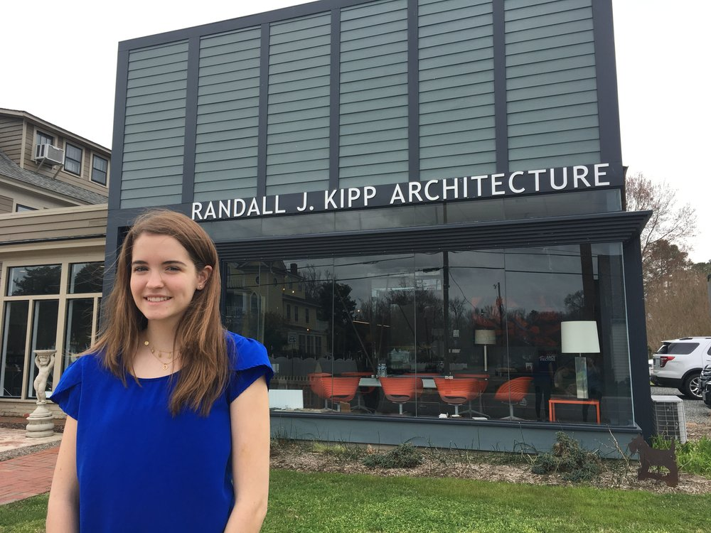 Lily Reihs assisted the team at Kipp Architecture over spring break.