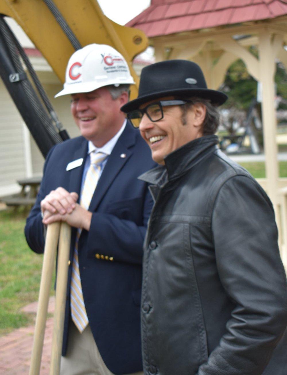 Randall and David Dew, Chesapeake Academy Board Member