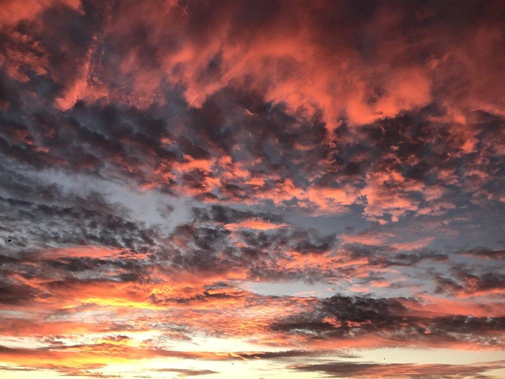 Skies over Berkeley, CA