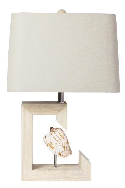 Couture Siesta Shell Lamp - $338