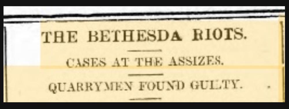 Caernarfon and Denbighshire Herald, 1st November 1901