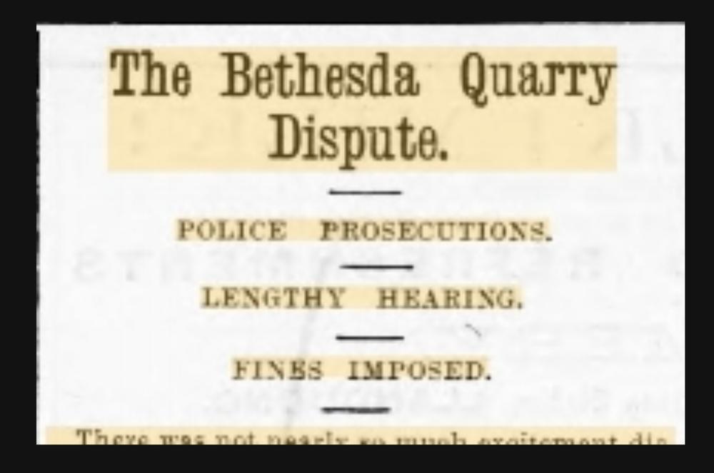Llandudno Advertiser 7th June 1901 (paraphrased by Lisa Hudson)