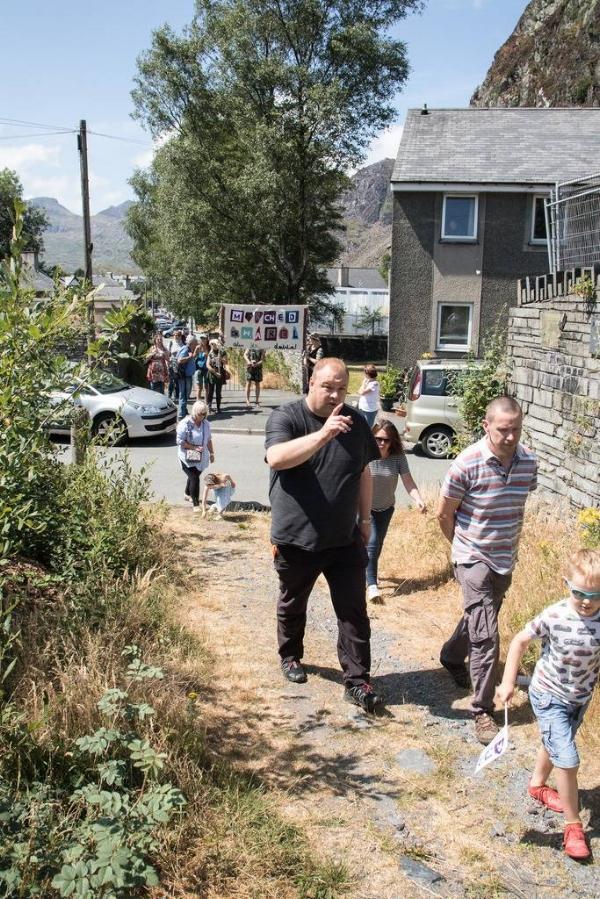 Gwyl Lechi Bro Ffestiniog - Dathliad o dreftadaeth, diwylliant a chymuned chwarelyddol Bro Ffestiniog i gefnogi'r cais i ennill statws Safle Treftadaeth y Byd UNESCO i dirwedd llechi.