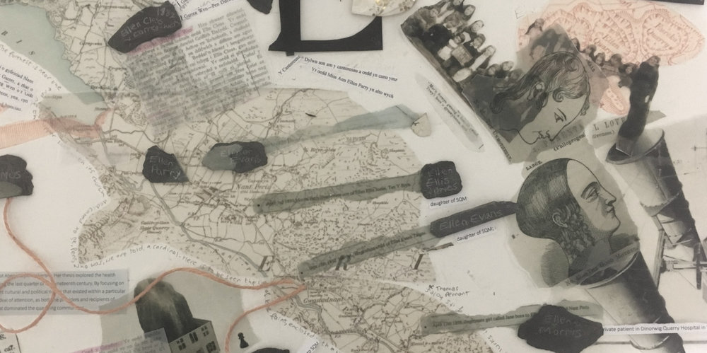 Detail of mapping work in progress