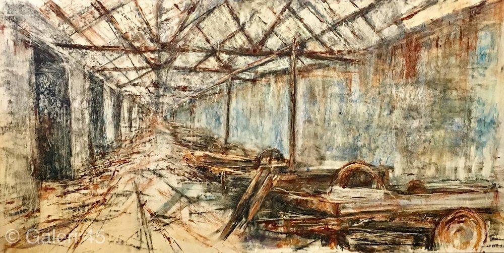 Abandoned Slate Mill