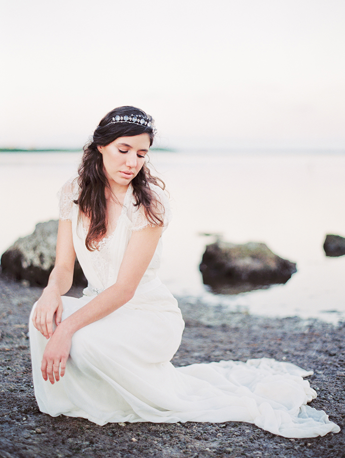 Michelle-March-Photography-Wedding-Photographer-Miami-South-Florida-Vintage-Film-Jenny-Packham-Sea-Ocean-Shells-5