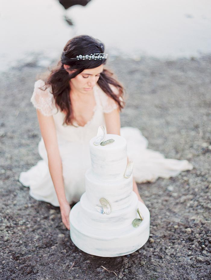 Michelle-March-Photography-Wedding-Photographer-Miami-South-Florida-Vintage-Film-Jenny-Packham-Sea-Ocean-Shells-3