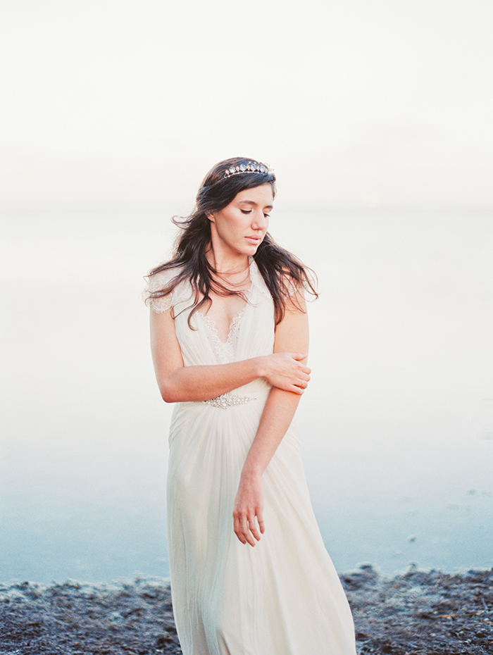 Michelle-March-Photography-Wedding-Photographer-Miami-South-Florida-Vintage-Film-Jenny-Packham-Sea-Ocean-Shells-6