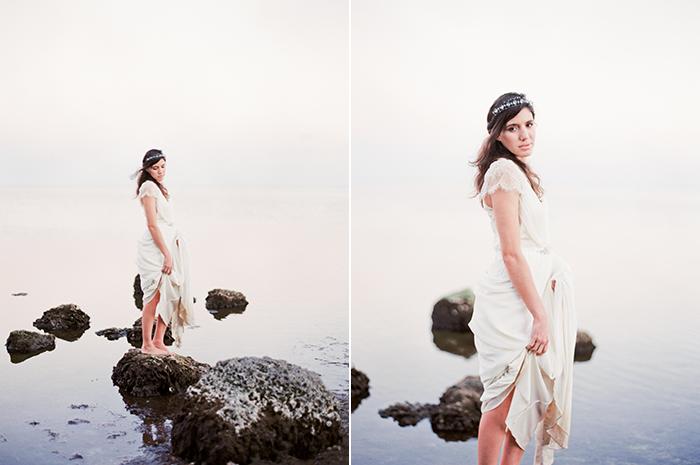Michelle-March-Photography-Wedding-Photographer-Miami-South-Florida-Vintage-Film-Jenny-Packham-Sea-Ocean-Shells-9