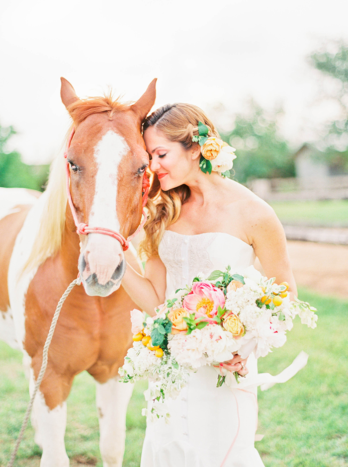 Michelle-March-Photography-Wedding-Photographer-Miami-Florida-Orlando-Horses-Farm-Vintage-Film-Citrus-Peonies-Barn-3-23