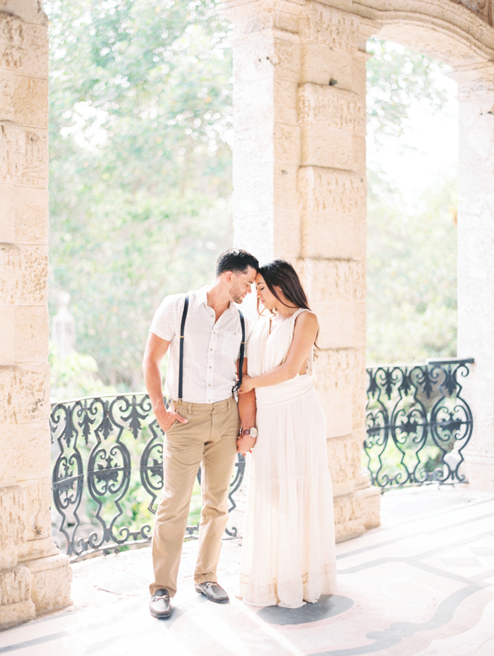 Michelle-March-Photography-Miami-Wedding-Photographer-Vizcaya-Romantic-Vintage-Film-Engagement-Spring-11