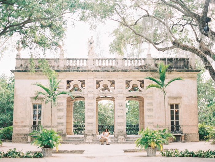 Michelle-March-Photography-Miami-Wedding-Photographer-Vizcaya-Romantic-Vintage-Film-Engagement-Spring-15