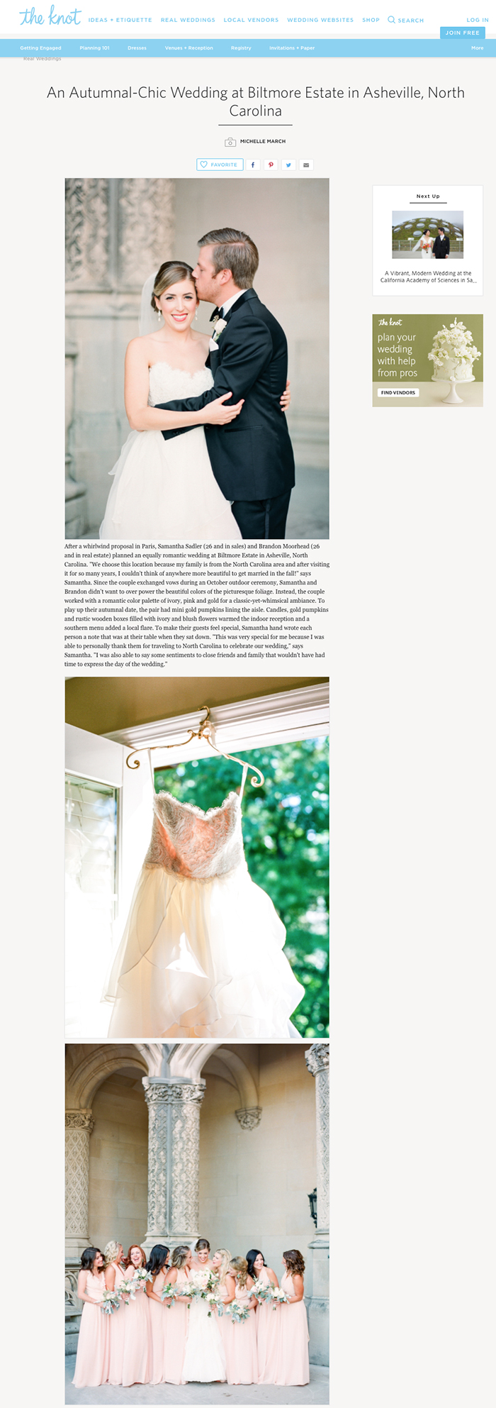 michelle-march-the-knot-biltmore-estate-asheville-wedding-featured