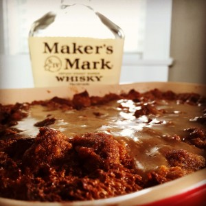 Bourbon Pecan Bread Pudding