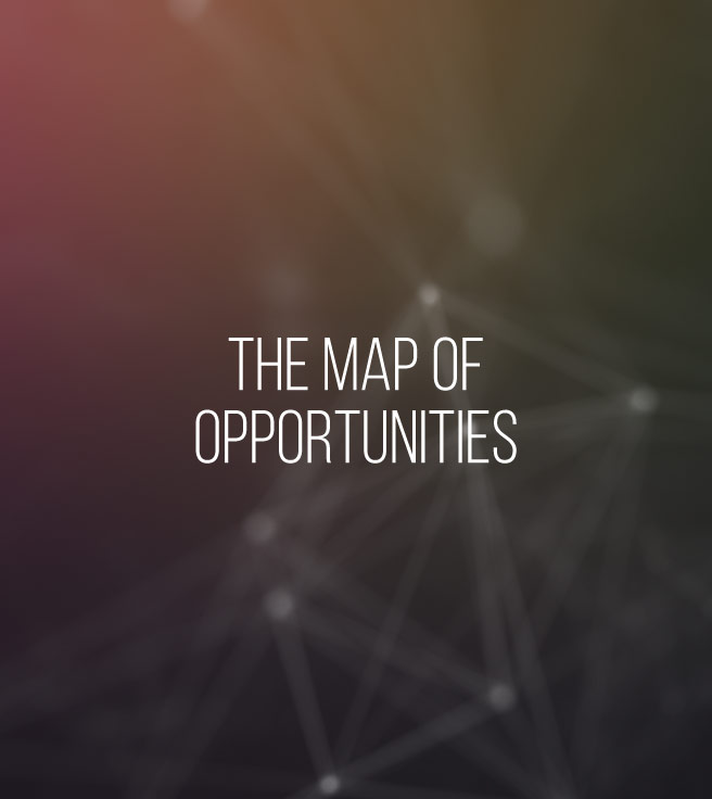 THE MAP OF OPPORTUNITIES - A tool of ancient origin that allows everyone to become aware of their own inclinations, characteristics, singularities and innate talents, enabling them to view themselves beyond everything external to them that affects their daily life.[LEARN MORE]