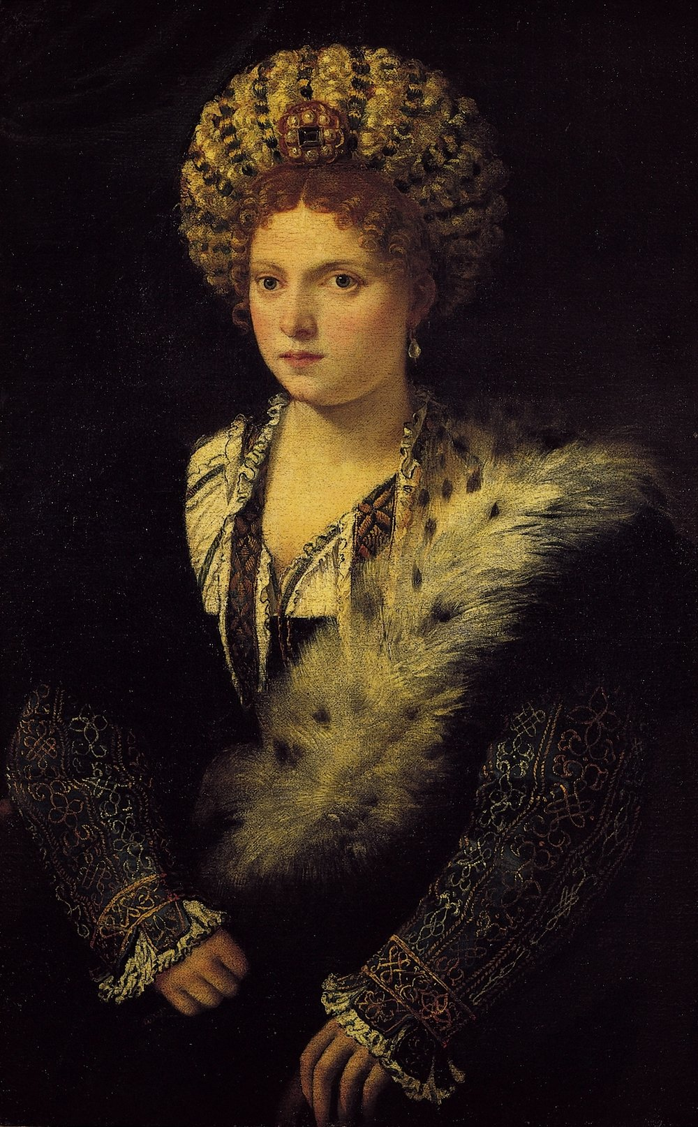 One of the women who safeguarded and transmitted the Ancient Knowledge was Isabella d'Este, Marquise of Mantova. She was one of the leading protagonists of the Italian Renaissance and she passed on the message in the best way possible for her time: she cultivated awareness through the study and creation of beauty that she herself impersonated.
