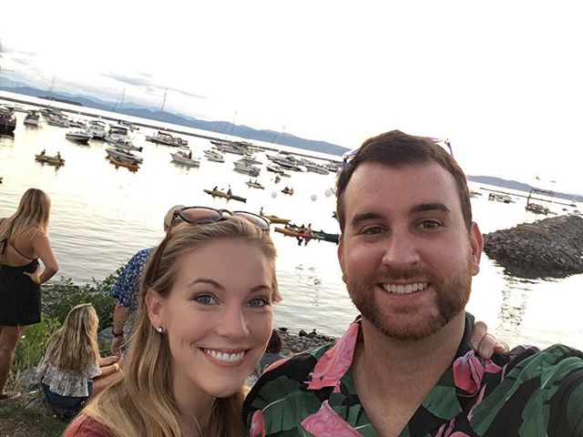 Flamingo shirts, @graciepotter, and @tim_lango what more could I ask for #grandpointnorth #burlington #vermont