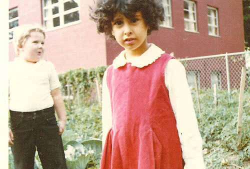 A young Emily Gasoi at Head Start in Sydney, NY